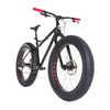 Vélo Mayor avec fourche en carbone Noir
