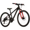 Powerkid 24 Disc Bicycle Black/Red