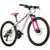 Vélo Powerkid 24 avec freins à disque Blanc/Rose