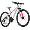 Powerkid 24 Disc Bicycle White/Pink