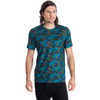 T1 Short-Sleeved Crew Adriatic Mimicry Print