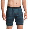 T1 Athletic Boxer Briefs Blue Depth Shady Stripe Print