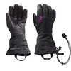 Luminary Sensor Gloves Black/Ultra Violet