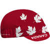 Canada Cycling Cap Red/White