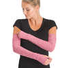 Lux Arm Warmers Deep Rose