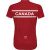 Canada Short Sleeve Jersey Red/White
