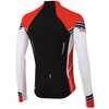 Elite LS Jersey Black/True Red