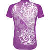 Florence Short Sleeve Jersey Purple