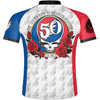 Grateful Dead 50th Anniversary Short Sleeve Jersey 50th Anniversary Graphic