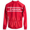 Maillot Canada à manches longues Rouge/Blanc