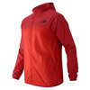 Manteau Windcheater Rouge chrome