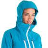 Manteau Oreithya Turquoise