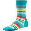 Margarita Crew Socks Capri Blue Stripe