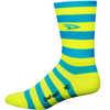 Aireator HT Stripers Socks Process Blue/Hi-Vis Yellow