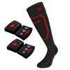Chaussettes Heat Sock 1.0 avec piles lithium rcB Noir/Rouge