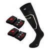 Chaussettes Heat Sock 1.0 Slim Fit et piles rcB Noir/Bronze