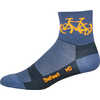 Aireator Townee Socks Graphite/Orange
