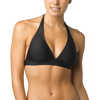 Lahari Halter Top Black
