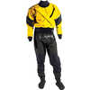 Gore-Tex Meridian Dry Suit w/Socks& Relief Zip Yellow/Black