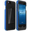 Étui chargeur solaire EnerPlex Surfr pour iPhone 6 Noir/Bleu