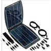 SolarGorilla 5V to 20V Solar Panel Charger Grey/Black