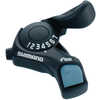 Tourney SL-TX30 Shifter Set 7 Speed Black