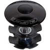 "TH-875-1 Star-Nut& Top Cap 1-1/8"" Black"
