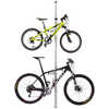 Velo Column 2-Bike Storage Rack Silver