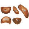 Wood Grips Holds 5 Pack Assorted