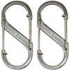 S-Biner Stainless Steel 2-Pack Stainless Steel