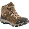 Bridger Mid Bdry Hiking Shoes Walnut