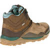 Fraxion Mid Waterproof Light Trail Shoes Chocolate Brown