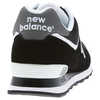 574 Shoes Black/White