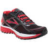 Ghost 8 Road Running Shoes Black/High Risk Red