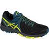 Gel FujiAttack 5 Trail Running Shoes Black/Flash Yellow