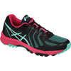 Gel FujiAttack 5 Trail Running Shoes Black/Pool Blue