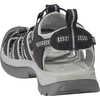 Whisper Sandals Black/Neutral Grey
