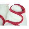 Chaussons en laine polaire Blanc berbère