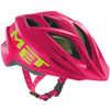 Crackerjack Helmet Pink/Green Texture