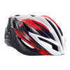 Forte Bicycle Helmet Red/White/Black