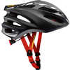 Ksyrium Elite Cycling Helmet Black/Red