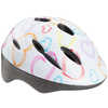 Whirlwind Cycling Helmet White Hearts
