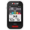V650 GPS Cycling Computer with Heart Rate Mon White/Black