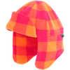 Fleece Trapper Hat Raspberry Sunrise