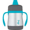 Stainless Steel Sippy Cup with Handles 210ml Blue