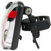 Feu arrière de vélo Vis 180 Micro Argent