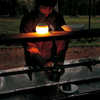 miniHozuki LED Lantern Blue