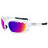 Lunettes de soleil Racing Jacket Blanc poli/Route Prizm