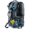 Traveller 60+10 SL Backpack Black/Turquoise