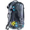 Sac à dos Traveller 60+10 SL Noir/Turquoise